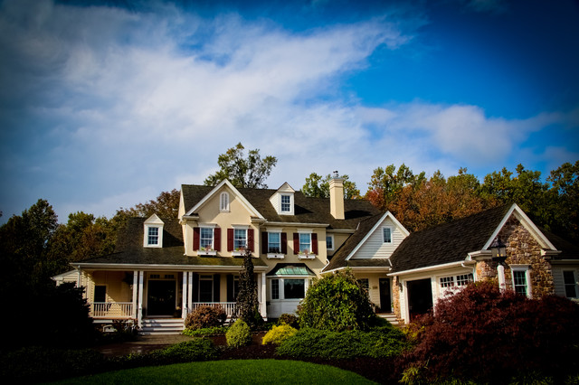 Custom Home | Morgantown | Chester County PA traditional-exterior