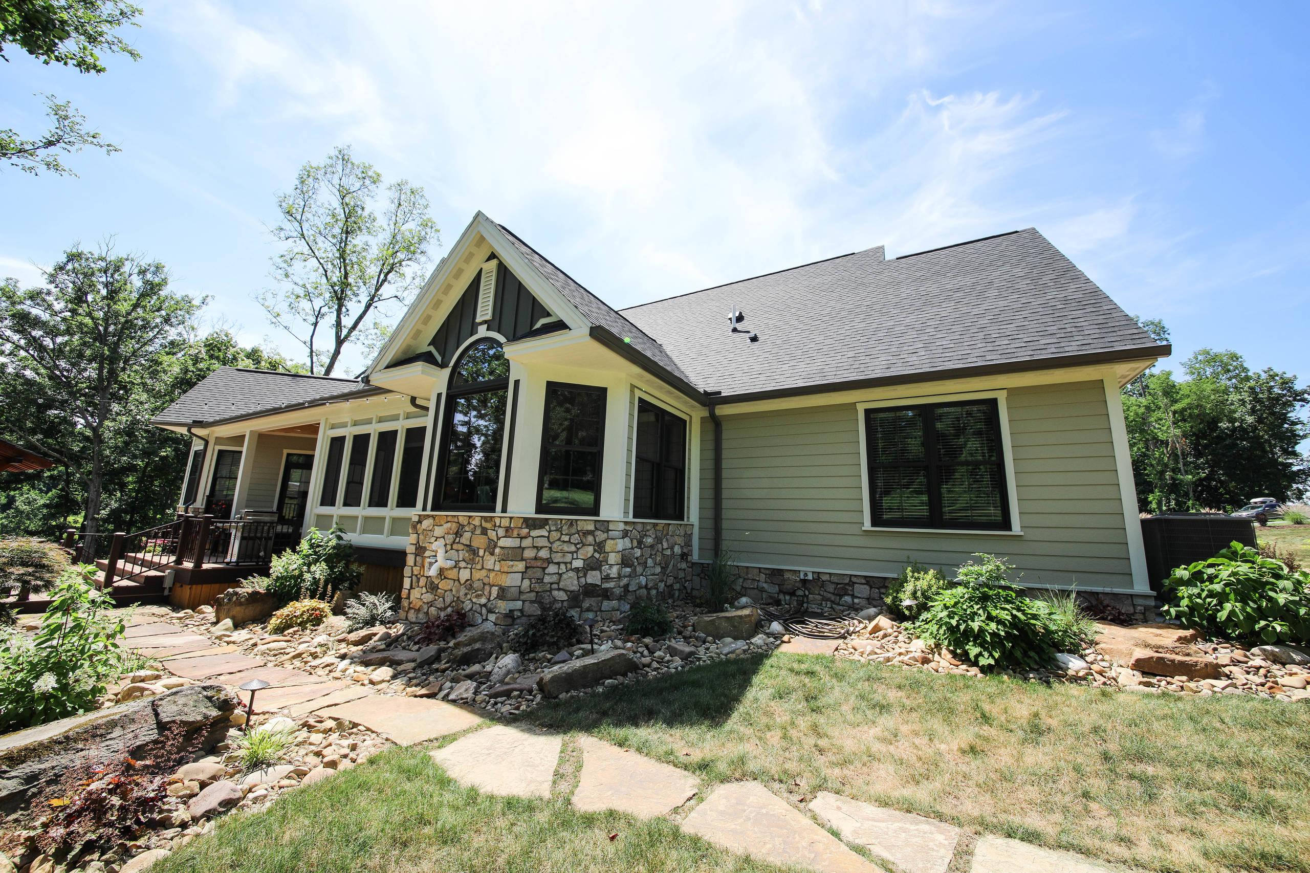 Custom Home: New Construction at Warman Farm