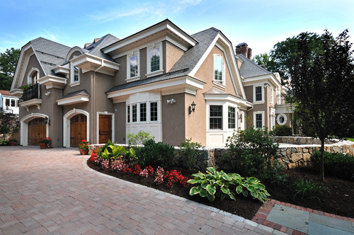 Color of roof stucco color trim color where can i find for Stucco and trim color combinations