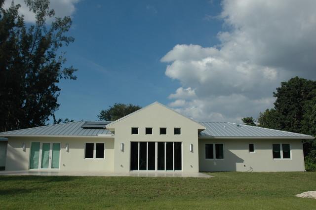 Custom Home modern-exterior
