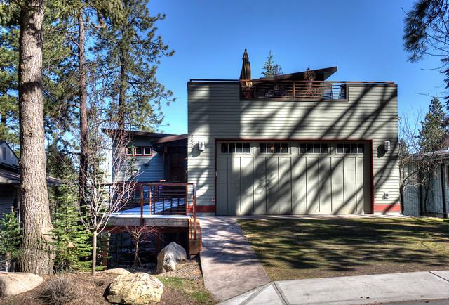 Custom Home South Hill Spokane contemporary-exterior