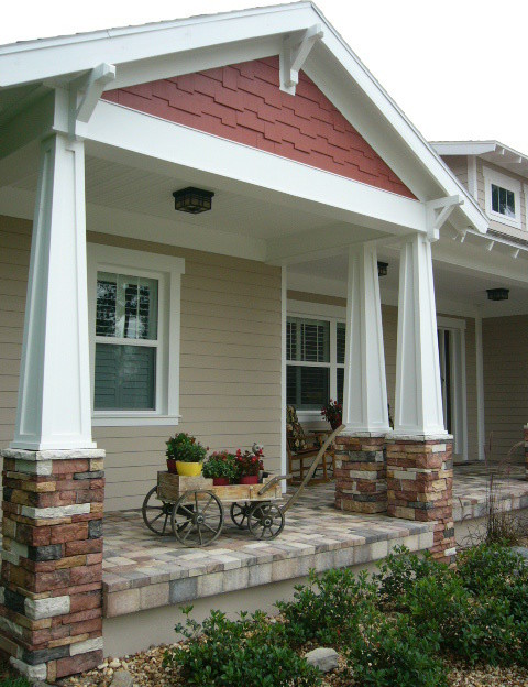 Custom home southern hills3 craftsman exterior for Southern custom homes