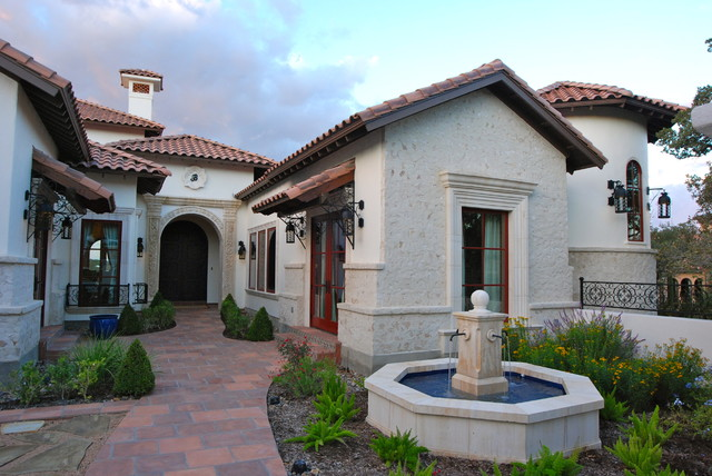 Custom home spanish mediterranean in cordillera ranch for Spanish mediterranean homes