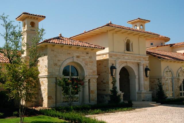 Custom Homes mediterranean-exterior