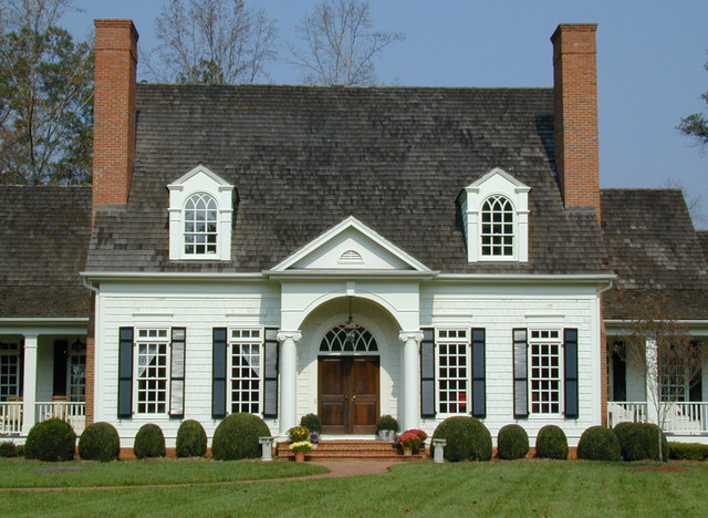 Custom Homes traditional-exterior