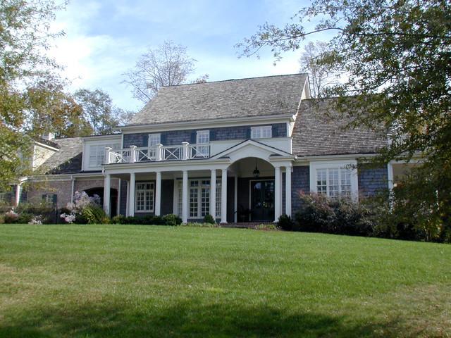 Custom Homes traditional-exterior