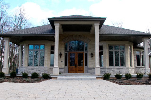 Custom Homes by Ridley traditional-exterior