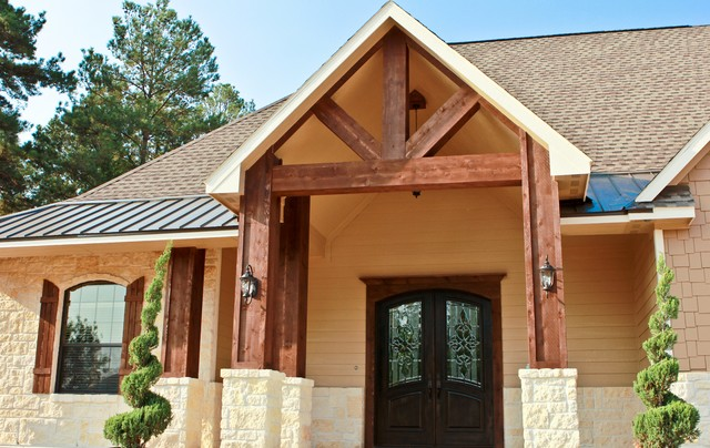 Custom Homes Traditional Exterior Houston By