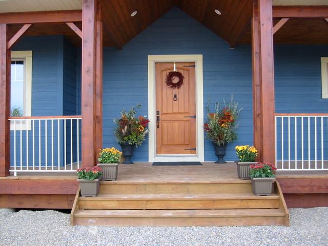 Custom Homes farmhouse-exterior