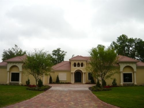 Custom homes mediterranean exterior orlando by for Custom mediterranean homes