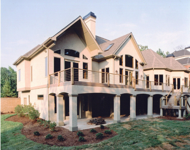 Custom Homes Traditional Exterior Atlanta By