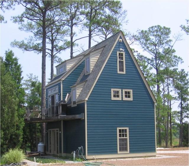 Custom Homes/New Construction traditional-exterior
