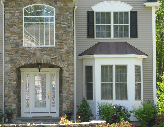 Custom Homes Supplied by National Lumber traditional-exterior