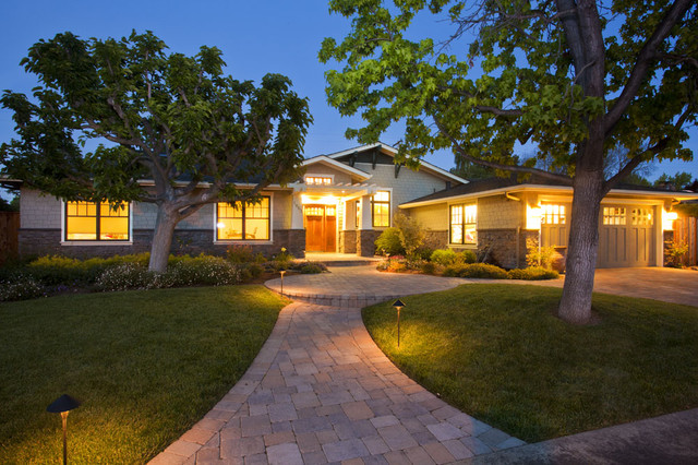 Custom Homes contemporary-exterior