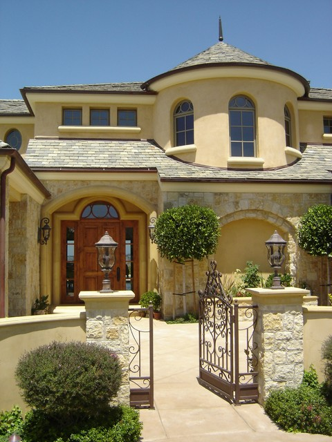 Custom homes mediterranean exterior other by for Luxury home windows