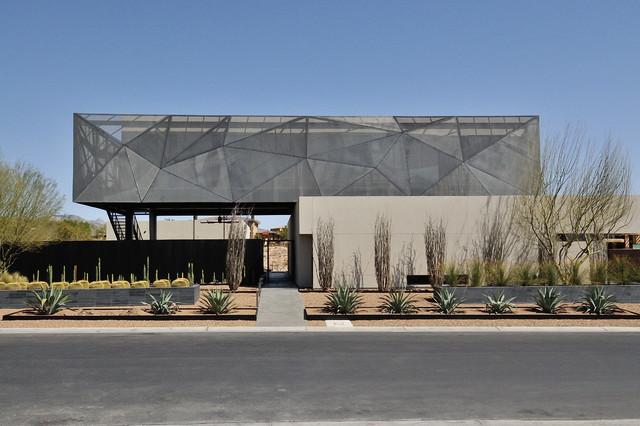 Custom Ironwork Contemporary Exterior Las Vegas By JD Stairs Inc
