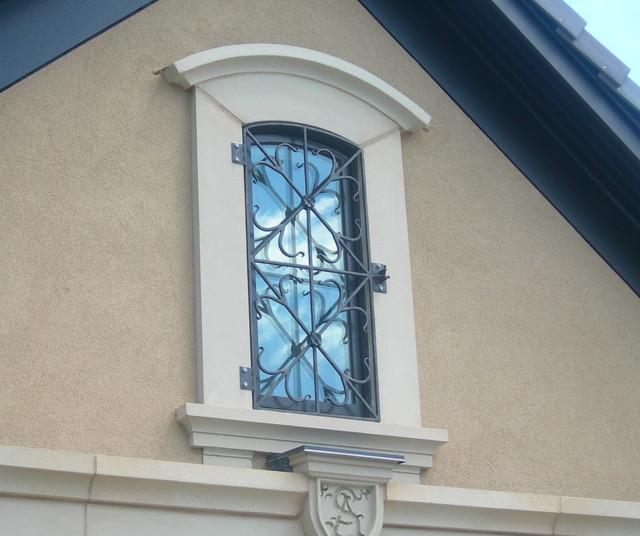 Custom Made Wrought Iron Window Bars