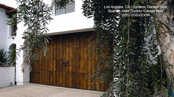 Custom manufactured spanish style garage doors for Spanish style prefab homes