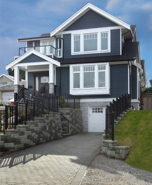 Traditional Exterior Homes: Custom Modern Craftsman New Home Build