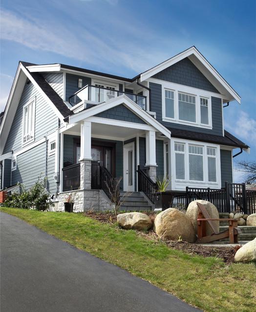 Custom modern craftsman new home build traditional for Custom craftsman homes