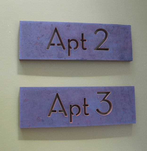 custom modern house numbers modern-outdoor-products