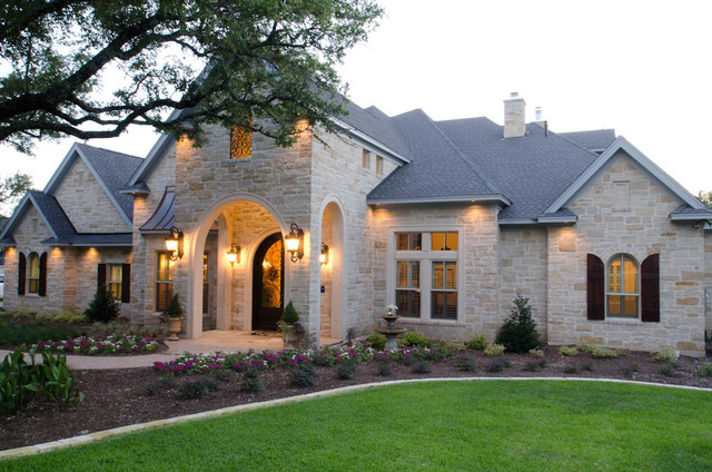 Custom Old World English Country House Traditional Exterior Austin Curtis Cook Designs