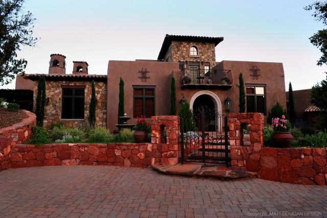 Custom Old World Style Home Sedona Arizona