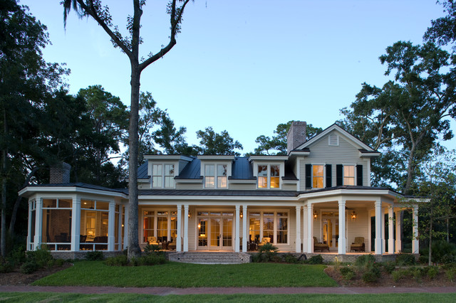 traditional lake house custom palmetto bluff lake home traditional exterior 71222