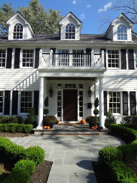 Custom Renovated Exterior Home traditional-exterior