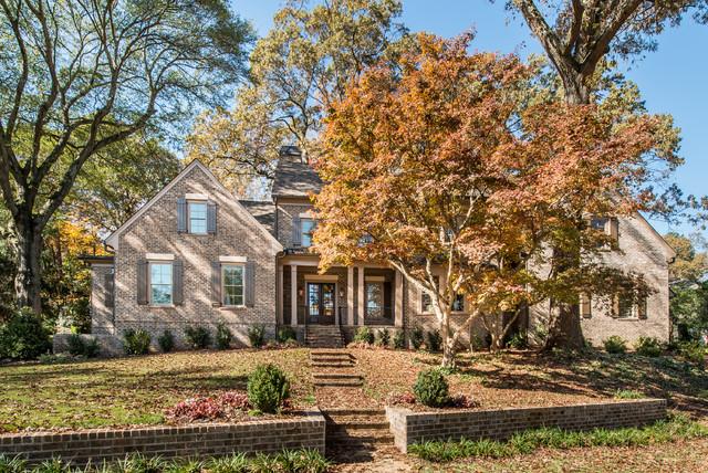 Transitional exterior home photo in Atlanta