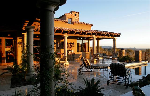 Custom Residence mediterranean-exterior
