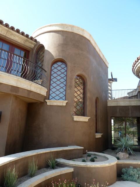 Custom Residence - Stone Canyon, Oro Valley, AZ mediterranean-exterior