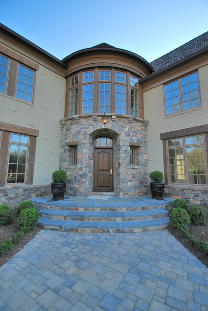 Custom Stone Work Traditional Exterior Dc Metro By