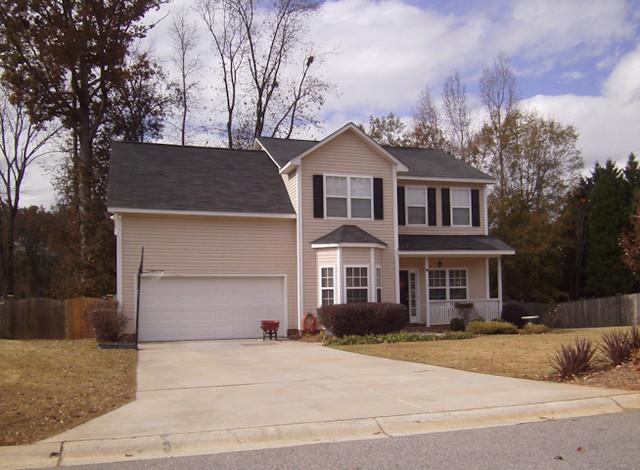 Custom/Track Homes traditional-exterior