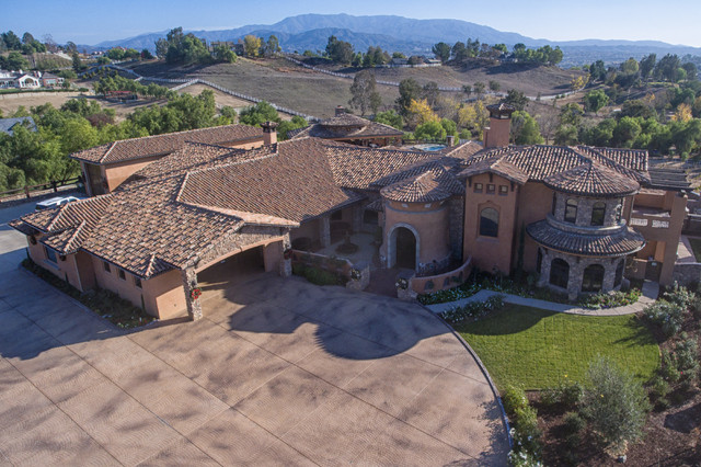 Custom Tuscan Home In Temecula Wine Country