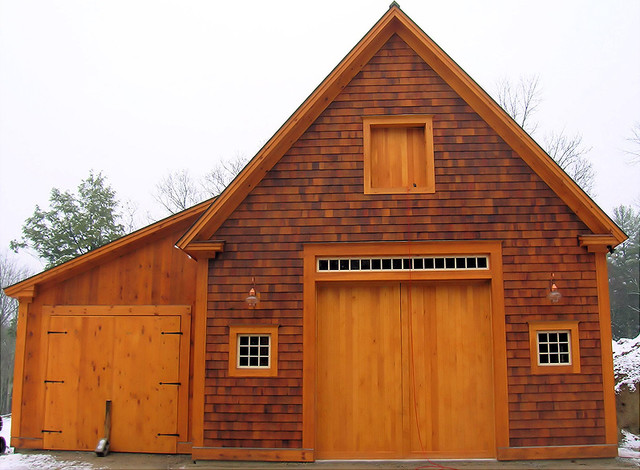 Custom Two Story Barn Newfields New Hampshire