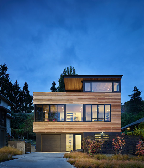 Cycle House Contemporary Exterior Seattle By
