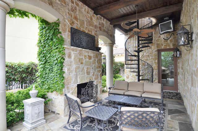 "Dallas Design Group design Home Plan ""Wynntworth"" tropical-exterior"