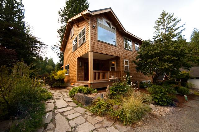 Damon Residence rustic-exterior