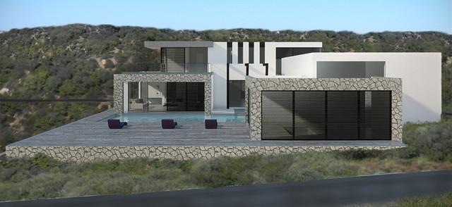 Dana Point House contemporary-exterior
