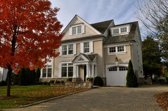 Darien House traditional-exterior