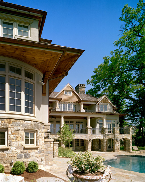 Darien Residence Traditional Exterior New York By