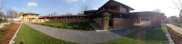 Darwin D. Martin House modern-exterior