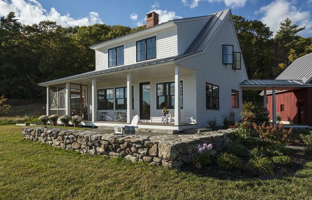 A New Farmhouse Pulls Off An Old Look
