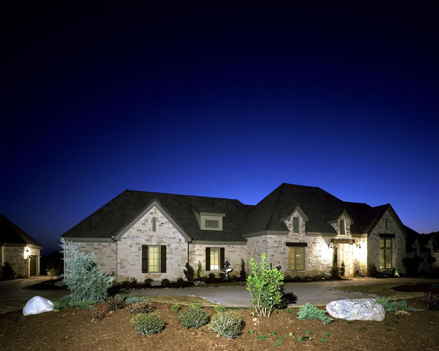 Davenport ranch dream home traditional other metro for Ranch style dream homes