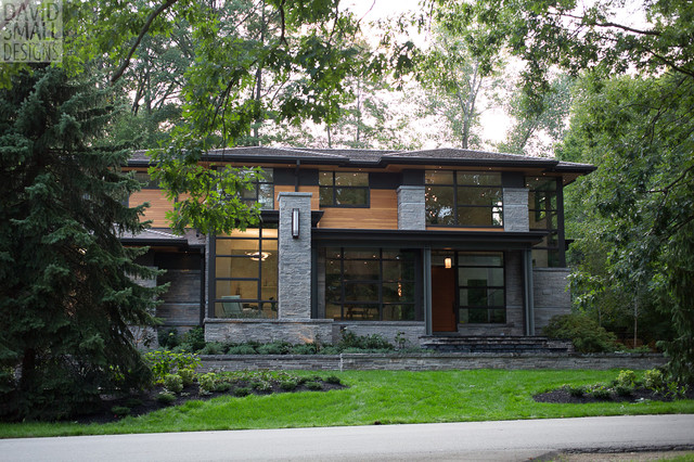 Davids House Modern Exterior Toronto by David Small Designs