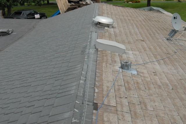 Davinci Slate Roofing Installation Exterior Chicago