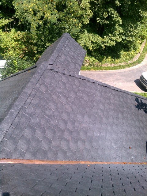 Davinci synthetic slate roofing traditional exterior Davinci roofing products