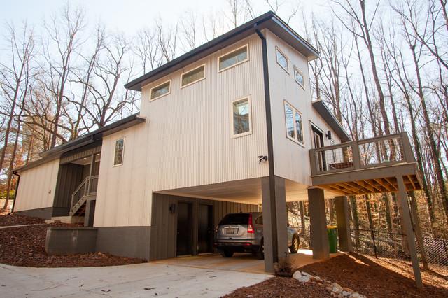 Davis Estates Modern Exterior Atlanta By Joma