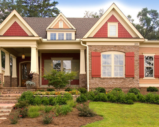 Craftsman Shutters Home Design Ideas Pictures Remodel And Decor